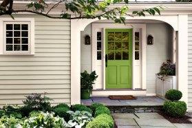 greenery-door