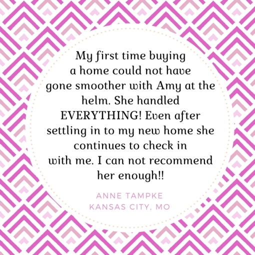 My first time buying a home could not have gone smoother with Amy at the helm. She handled EVERYTHING! Even after settling in to my new home she continues to check in with me. I can not